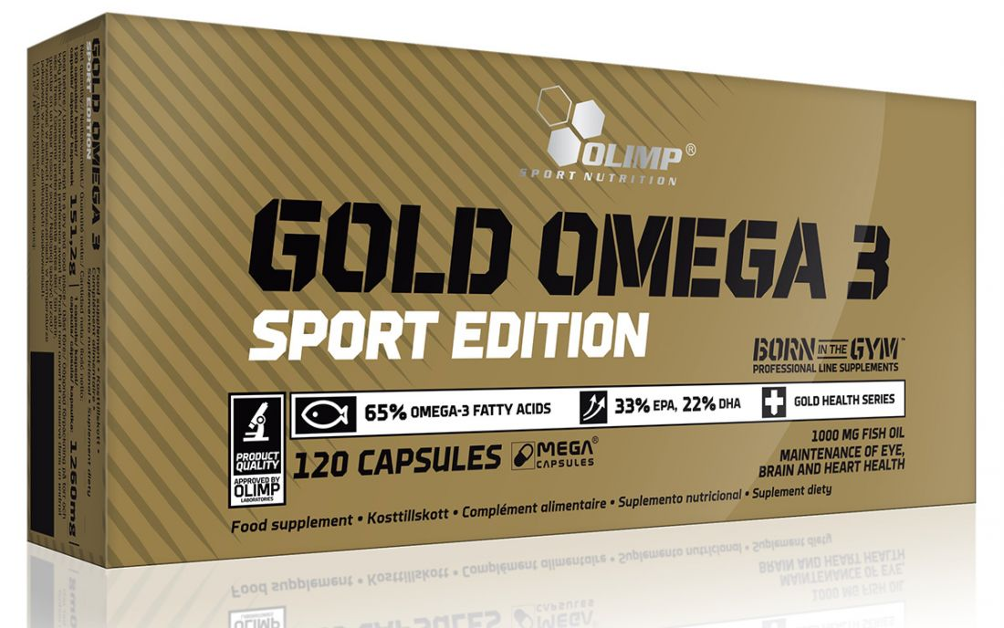 Gold Omega 3 Sport Edition (120 капс.)