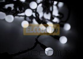 "Гирлянда ""LED - шарики"", Белые Ø45мм 10м 40 диодов, Neon-Night"