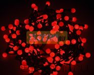 """Гирлянда """"LED - шарики"""", Ø17,5мм, 20 м, цвет свечения красный, 220В, Neon-Night"""