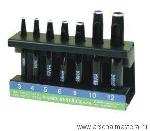 Просечки Narex 3-12 мм, 7 шт 854800