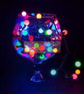 """Гирлянда """"LED - шарики"""", RGB, Ø17,5 мм, 20 м, 24В, Neon-Night"""