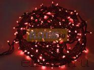"""Гирлянда """"Твинкл Лайт"""" 20 м, 240 диодов, цвет красный, черный провод """"каучук"""", Neon-Night"""