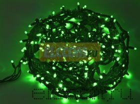 """Гирлянда """"Твинкл Лайт"""" 20 м, 240 диодов, цвет зеленый, черный провод """"каучук"""", Neon-Night"""