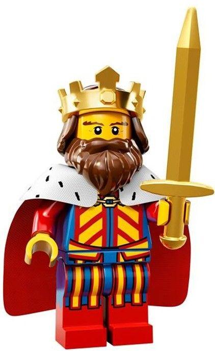 71008-1 Коллекционная Минифигурка Король