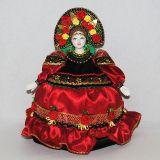Кукла-грелка на чайник Параскева ручной работы