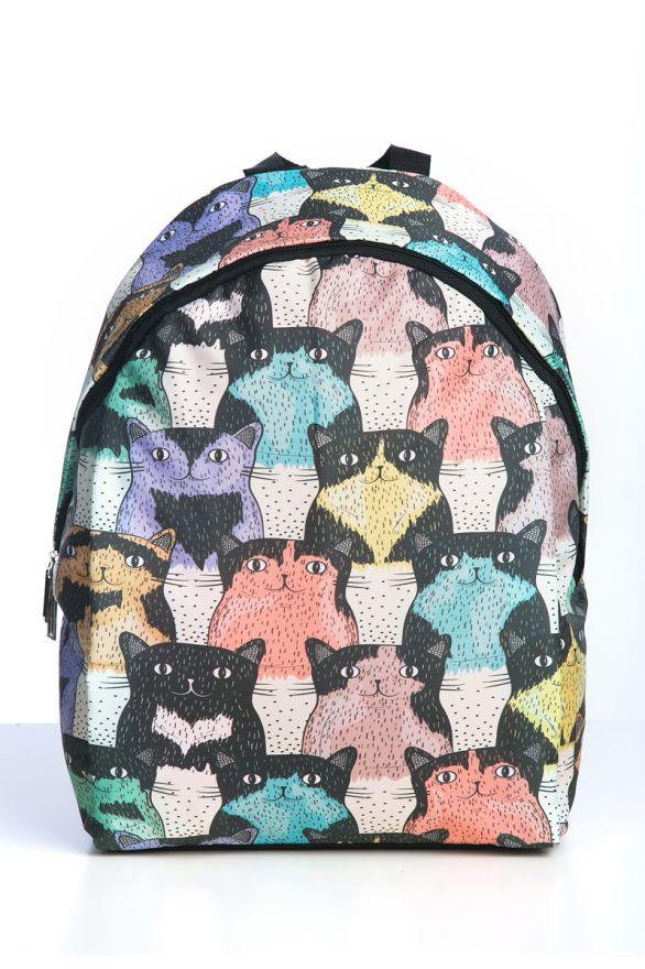 Рюкзак ПодЪполье Cats speckled