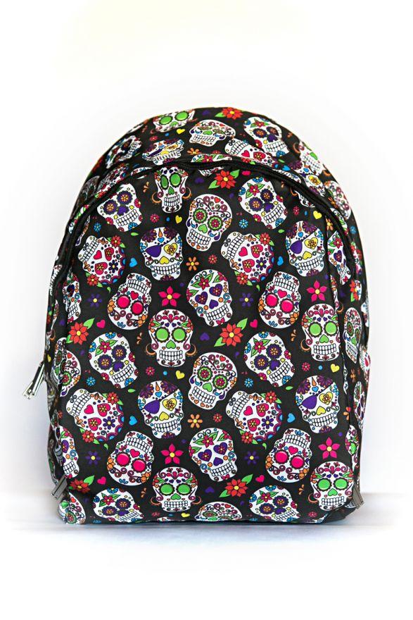 Рюкзак ПодЪполье Print Mexican skulls