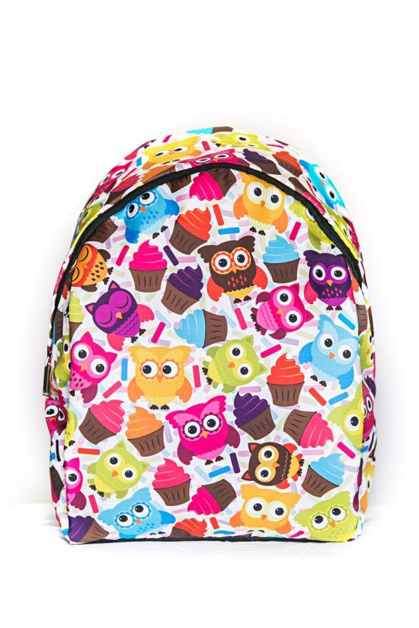Рюкзак ПодЪполье Colorful owls