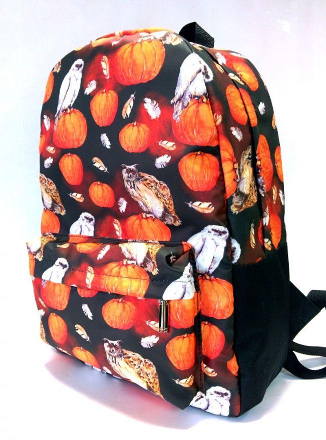 Рюкзак ПодЪполье Owl and pumpkin