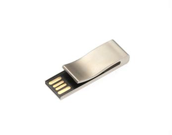 8GB USB-флэш корпус для Apexto AP-Bookmark  закладка клип серебряная