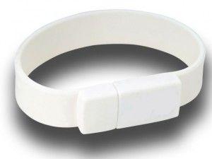 64GB USB-флэш накопитель Apexto U601A браслет белый