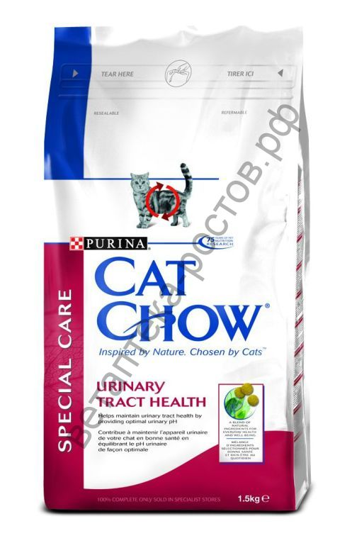 Cat Chow Special Care Urinary tract health, 1,5 кг. + 500 гр. бесплатно
