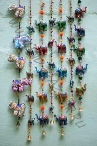 Индийская гирлянда со слонами (СПб)
