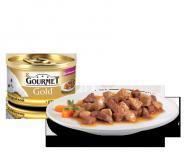 Gourmet Gold - Кусочки в подливке (с уткой и индейкой) (85 г)