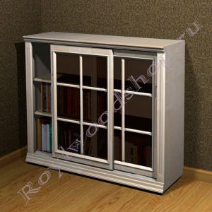 """Книжный шкаф """"Лондон СИТИ-С береза"""""""