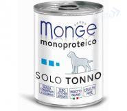Monge Dog Monoproteico Solo Паштет для собак из тунца (400 г)