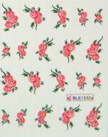 Водная наклейка для дизайна ногтей BLE-1532