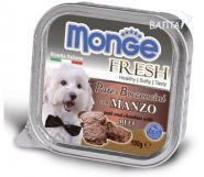 Monge Dog Fresh Консервы для собак говядина (100 г)