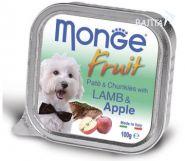 Monge Dog Fruit Консервы для собак ягненок с яблоком (100 г)
