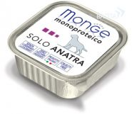 Monge Dog Monoproteico Solo Anatra Паштет для собак из утки (150 г)