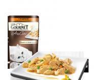 Gourmet A la Carte - С индейкой и гарниром a la Ratatouille с зеленым горошком и морковью (85 г)