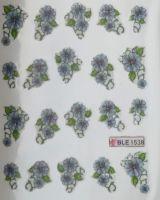 Водная наклейка для дизайна ногтей BLE-1538