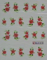 Водная наклейка для дизайна ногтей BLE-1610