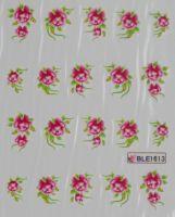Водная наклейка для дизайна ногтей BLE-1613