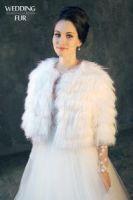 прокат меха модели шубок для свадьбы фото