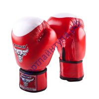 Боксёрские перчатки RBG-100 Кожа (100%) Red