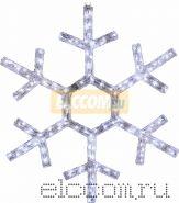 """Фигура """"Снежинка"""", диаметр 91 см (138 БЕЛЫХ светодиодов)"""