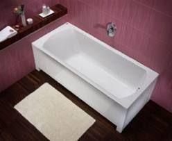 Ванна Moln оснащена регулируемым каркасом 180x80cm