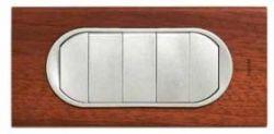 Накладка выкл. 5 клавиш Legrand Celiane титан (арт.68311)