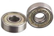 Комплект подшипников  для роликов и скейтбордов ABEC-5, chrome (8 штук)