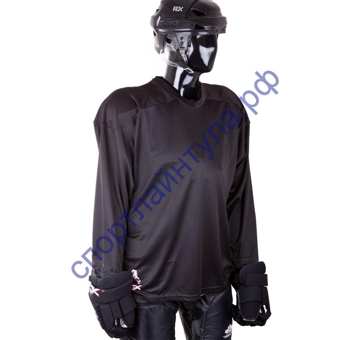 Джемпер хоккейный HS-07 black Junior