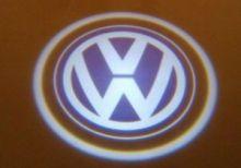 """LED проекция логотипа VW, """"приветственный свет"""", к-кт на 2 двери"""