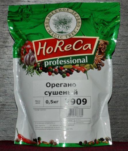 HORECA ПАКЕТ 0,5 КГ ОРЕГАНО