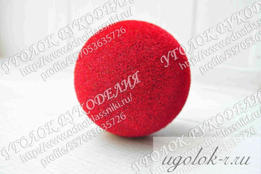 Пенопластовый шар 80 мм