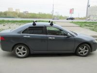 Багажник на крышу Honda Accord, Атлант, прямоугольные дуги