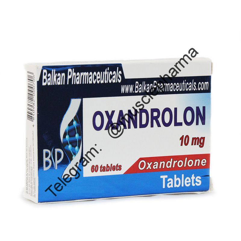 OXANDROLON (ОКСАНДРОЛОН). BALKAN PHARMA. 20 таб. по 10 мг.