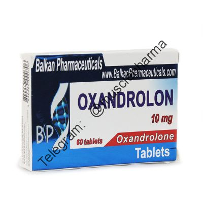 OXANDROLON (ОКСАНДРОЛОН). BALKAN PHARMA. 25 таб. по 10 мг. (25 таблеток!!!)