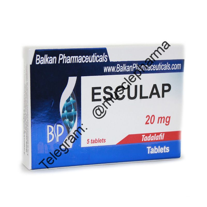 ESCULAP (ТАДАЛАФИЛ). BALKAN PHARMA. 5 таб. по 20 мг.
