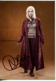 Автограф: Наталия Тена (Гарри Поттер)