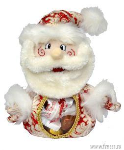 """Мешочек """"Дед Мороз"""", конфеты и пряники с предсказаниями"""