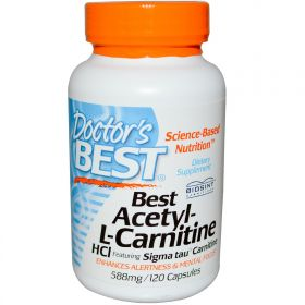Doctor's Best Best Acetyl-L-Carnitine HCl 588 мг. (60 капс.)