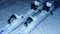 VOLKL ESSENZA ARGENTO 159 женские горные лыжи + крепления
