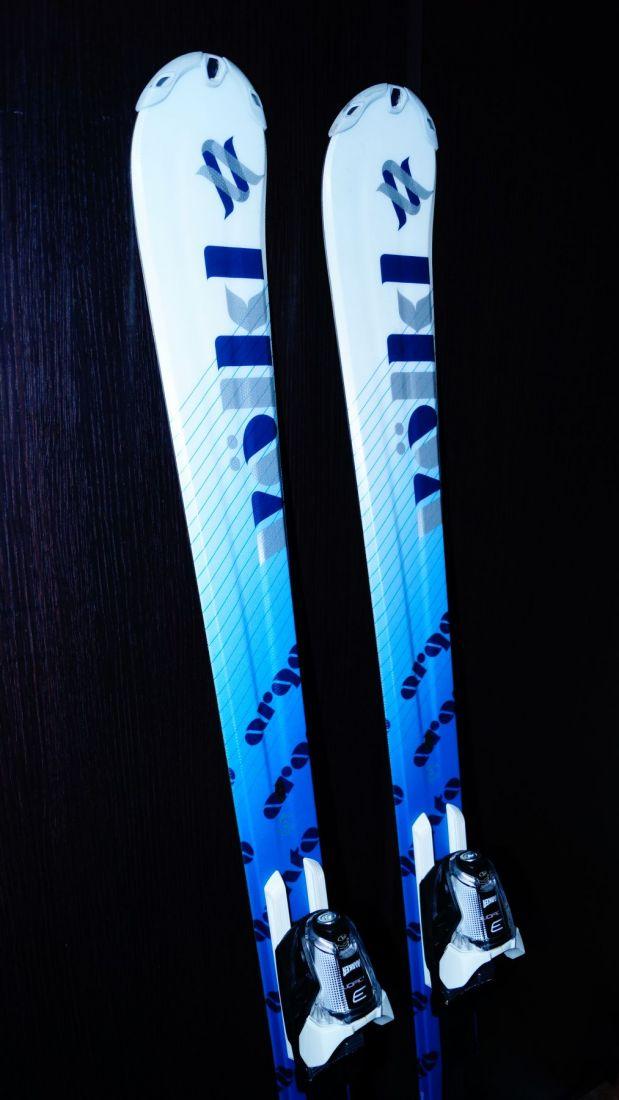 VOLKL ARGENTO 154 горные лыжи + крепления