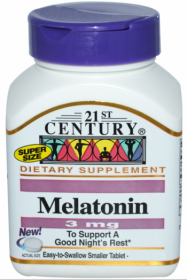 21st Century Health Care Melatonin 3 мг. (90 табл.)