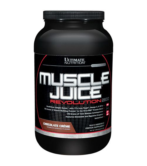 ULTIMATE NUTRITION Muscle Juice Revolution (2,12 кг.) - банан