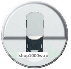 Накладка компьютерной розетки RJ45 Legrand Celiane титан (арт.68551)